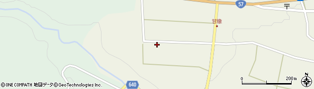 大分県竹田市菅生247周辺の地図