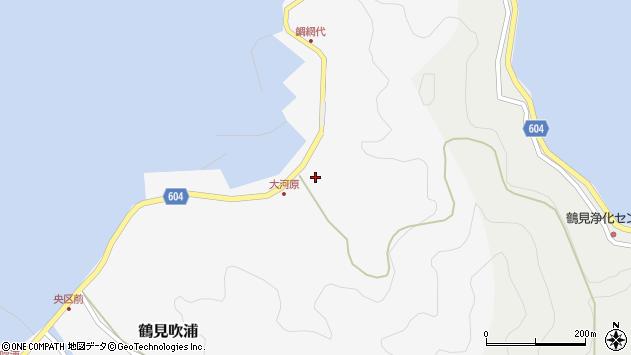 大分県佐伯市鶴見大字吹浦1834周辺の地図