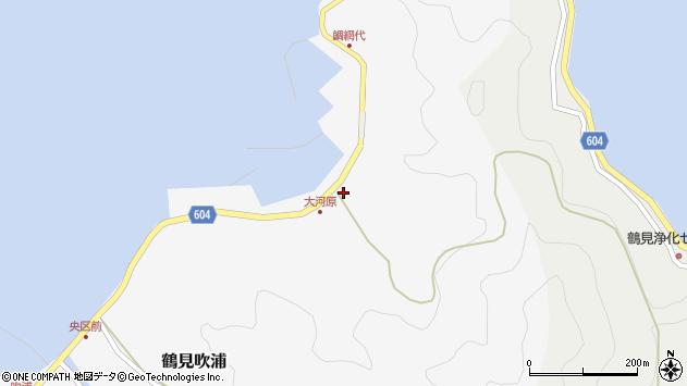 大分県佐伯市鶴見大字吹浦1680周辺の地図