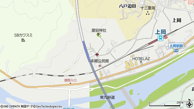 大分県佐伯市上岡1695周辺の地図