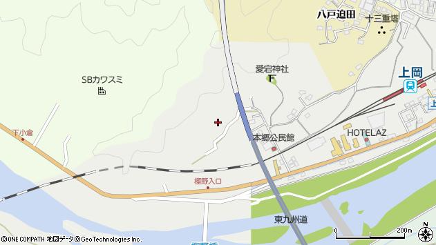 大分県佐伯市上岡1655周辺の地図