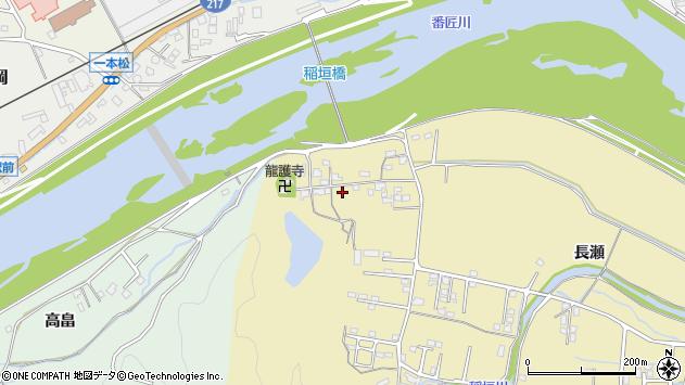 大分県佐伯市稲垣1040周辺の地図