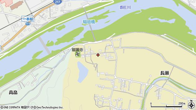 大分県佐伯市稲垣1035周辺の地図
