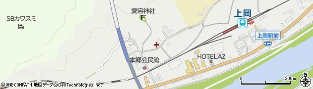 大分県佐伯市上岡1709周辺の地図