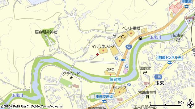 大分県竹田市拝田原721周辺の地図