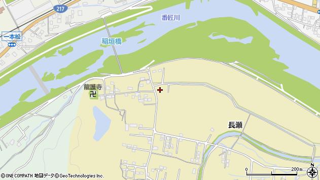 大分県佐伯市稲垣1537周辺の地図