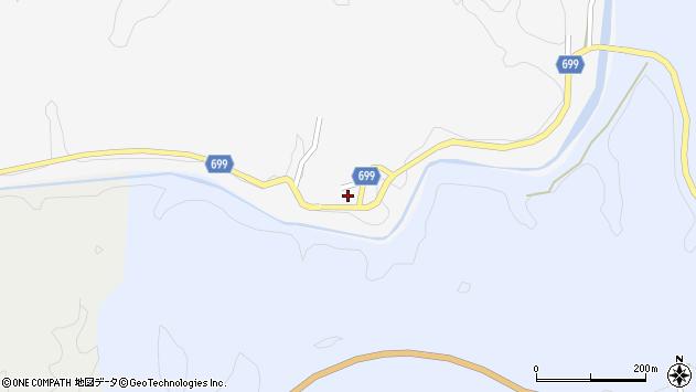 大分県竹田市岩瀬730周辺の地図