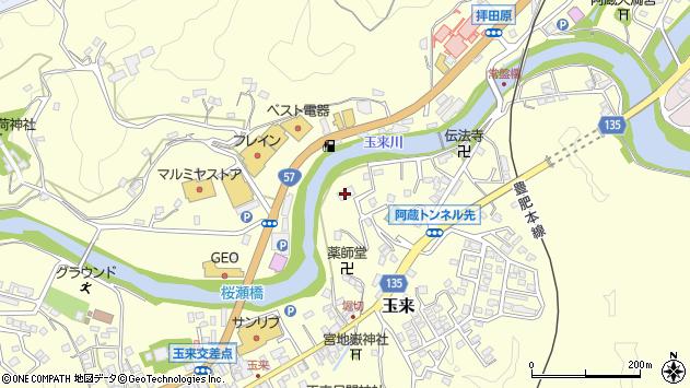 大分県竹田市玉来656周辺の地図