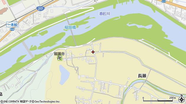 大分県佐伯市稲垣1011周辺の地図