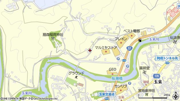 大分県竹田市拝田原850周辺の地図