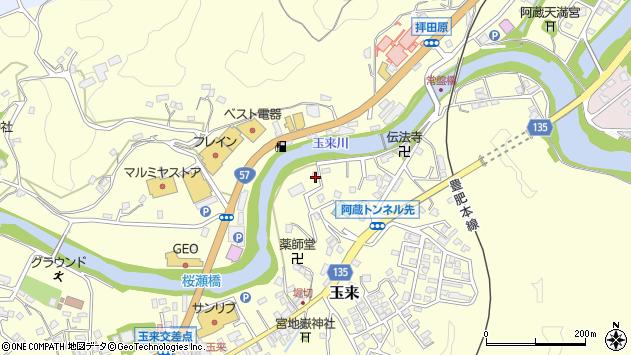 大分県竹田市玉来657周辺の地図