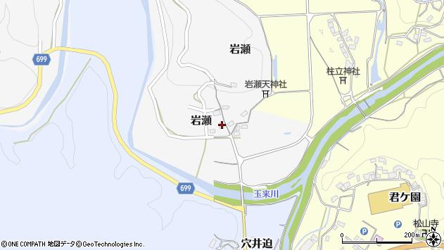 大分県竹田市岩瀬330周辺の地図