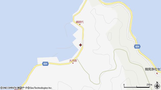 大分県佐伯市鶴見大字吹浦1865周辺の地図