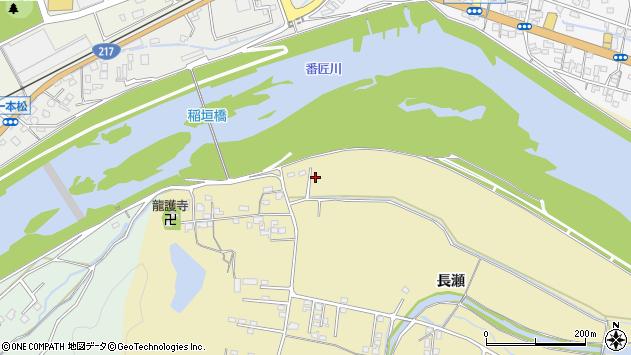 大分県佐伯市稲垣1543周辺の地図