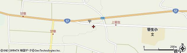 大分県竹田市菅生448周辺の地図
