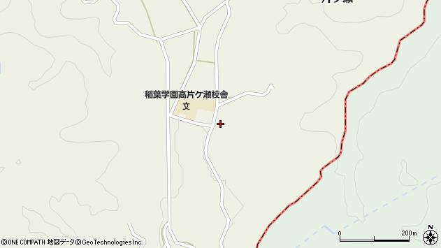 大分県竹田市片ケ瀬250周辺の地図
