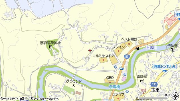 大分県竹田市拝田原710周辺の地図
