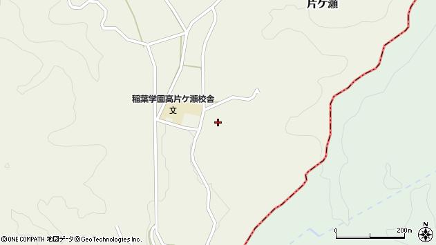 大分県竹田市片ケ瀬247周辺の地図