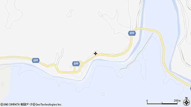 大分県竹田市岩瀬650周辺の地図