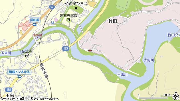 大分県竹田市竹田1133周辺の地図