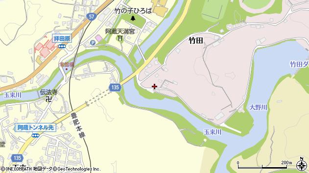 大分県竹田市竹田1145周辺の地図