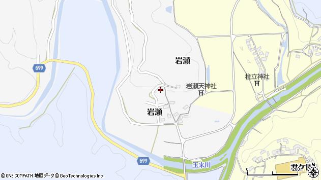大分県竹田市岩瀬378周辺の地図