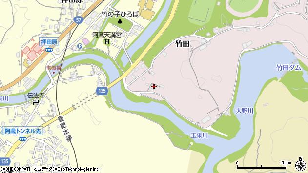 大分県竹田市竹田1129周辺の地図