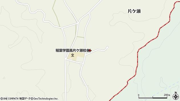 大分県竹田市片ケ瀬275周辺の地図