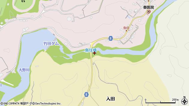 大分県竹田市入田3157周辺の地図