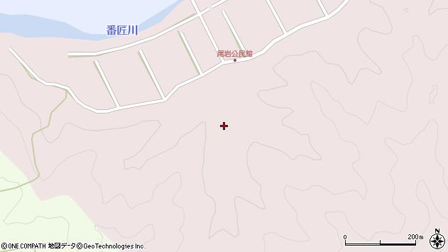 大分県佐伯市弥生大字細田422周辺の地図