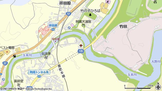 大分県竹田市玉来120周辺の地図
