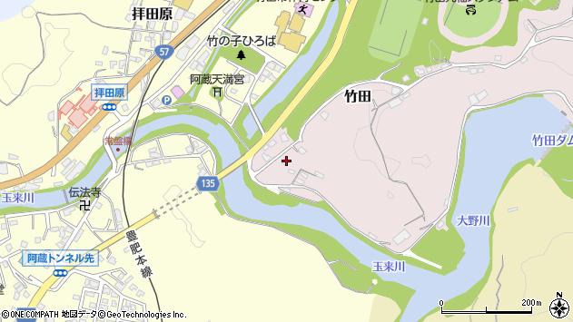 大分県竹田市竹田1151周辺の地図