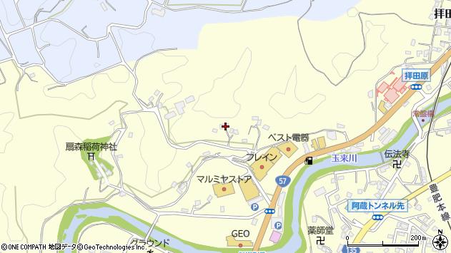 大分県竹田市拝田原638周辺の地図