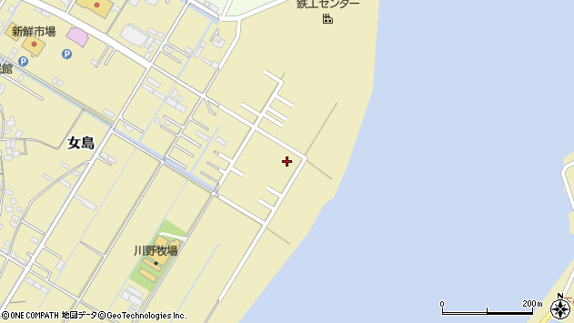 大分県佐伯市10438周辺の地図