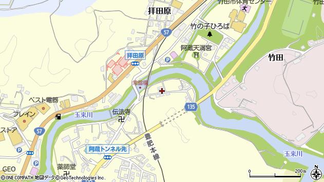 大分県竹田市玉来333周辺の地図