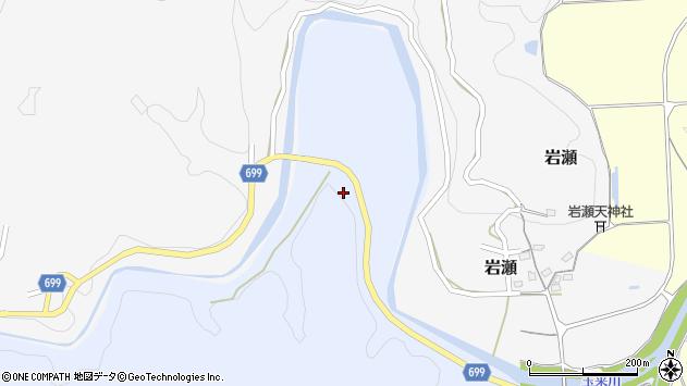 大分県竹田市穴井迫925周辺の地図