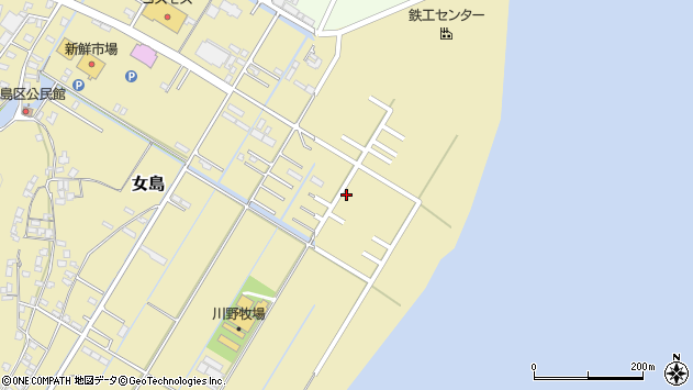 大分県佐伯市10430周辺の地図