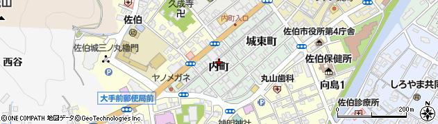 大分県佐伯市内町2-26周辺の地図