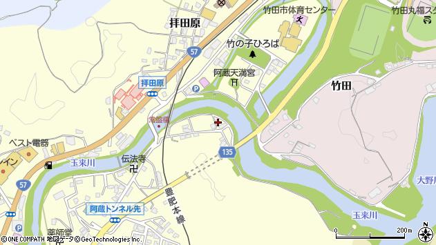 大分県竹田市玉来11周辺の地図