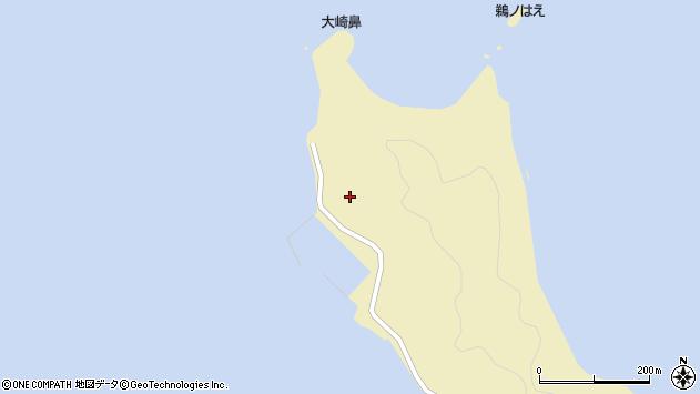 大分県佐伯市鶴見大字沖松浦大崎周辺の地図