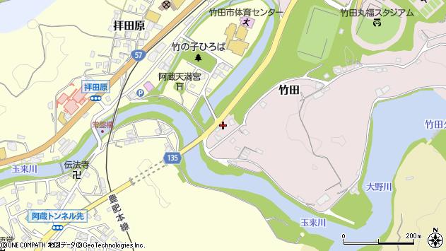 大分県竹田市竹田1152周辺の地図