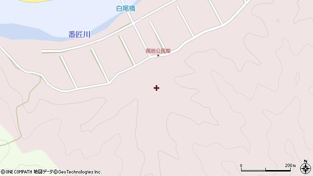 大分県佐伯市弥生大字細田428周辺の地図