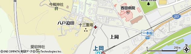 大分県佐伯市上岡1431周辺の地図