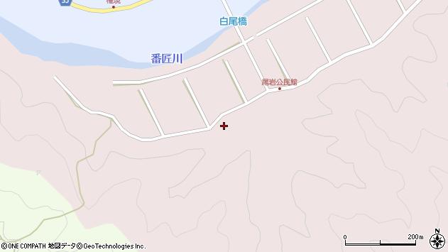 大分県佐伯市弥生大字細田347周辺の地図
