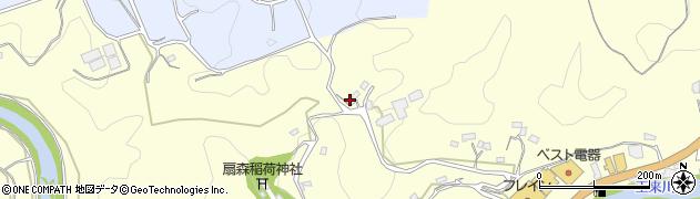大分県竹田市拝田原889周辺の地図