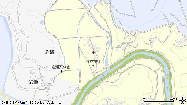 大分県竹田市君ケ園71周辺の地図