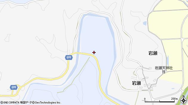大分県竹田市穴井迫959周辺の地図