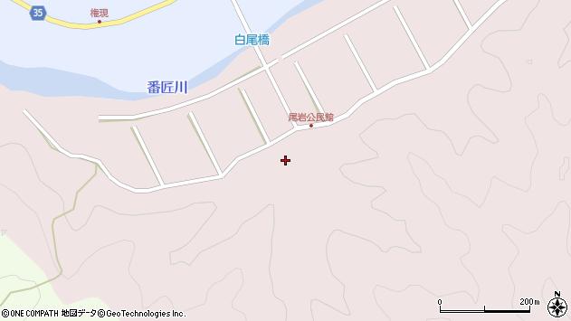 大分県佐伯市弥生大字細田362周辺の地図