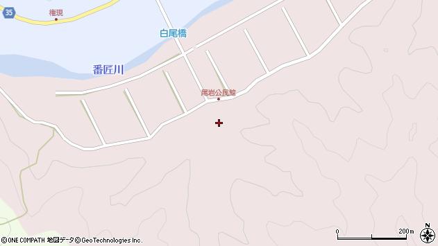 大分県佐伯市弥生大字細田481周辺の地図