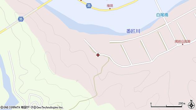 大分県佐伯市弥生大字細田111周辺の地図